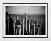 Glasgow Necropolis, Glasgow Photography Print, Graveyard Photo, Graveyard Photography, Glasgow Poster, Glasgow Print, Cemetery Photography