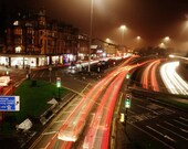 Glasgow Charing Cross Traffic Photography Print