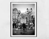 Montmartre Print Paris Photography