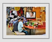 Seoul Korea Photography, Seoul Photography Print, Seoul Print, Korea Poster, Seoul Poster, Korea Gift, Korean Restaurant Decor, Korea Print