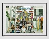 Shimokitazawa Tokyo Print, Tokyo Poster, Shimokitazawa Print, Tokyo Photography, Japanese Restaurant Decor, Tokyo Gallery Wall Prints, City