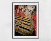 Selaron Steps Rio de Janeiro, Rio De Janeiro Poster, Escadaria Selarón, Rio De Janeiro Photography Print, Rio De Janeiro Wall Art, Gift