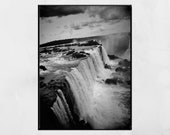 Iguazu Falls Photography Print, Iguazu Falls Picture, Waterfall Photography, Nature Photography, Waterfall Print, Home Decor Wall Art, Gift