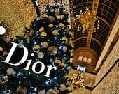 Dior House Of Fraser Glasgow Photography Print