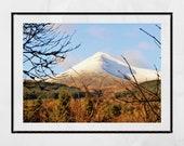 Isle of Arran Photography, Goatfell Arran, Landscape Photography, Scotland Photography, Arran Scotland, Arran Gift, Mountain Photography