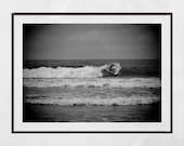 Surfing Photography, Surfing Print, Surfing Wall Art, Surfing Poster, Surfer Print, Surfer Photography, Ilha Do Mel Brazil, Surfing Gift
