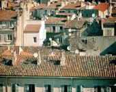 European Photography Prints Rooftops Marseille Poster