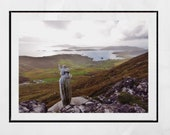 Isle of Barra Scotland Photography Print, Our Lady of the Sea and Heaval, Barra Photo, Outer Hebrides Picture, Scotland Photography