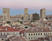 Marseille Skyline City Photography Print
