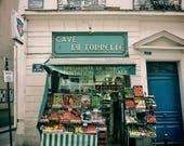 Paris Street Photography Print Saint Germain Poster