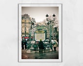 Montmartre Print Paris Street Photography