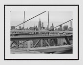 New York Photography Print, Empire State Building Wall Art, New York Poster, New York Print, Brooklyn Bridge Print, New York Wall Art,