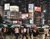 Tokyo Photography, Tokyo Poster, Tokyo Print, City Photography, Shinjuku Tokyo, Tokyo Gallery Wall Prints, Japanese Restaurant Decor, Decor