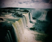 Iguazu Falls Photo, Waterfall Photo, Landscape Photography, Nature, Iguazu Falls Print, Waterfall Print, Iguazu Falls Photography, Art