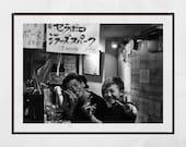 Tokyo Izakaya Print, Tokyo Photography, Japanese Restaurant Decor, Standing Bar Tokyo, Japan Poster, Japan Photography, Tokyo Print