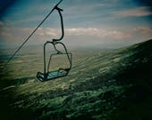 Ski Lift Print, Ski Print, Glencoe Print, Scotland Print, Ski Lift Photo, Glencoe Photo, Scotland Photo, Ski Photo, Ski Lift Wall Art