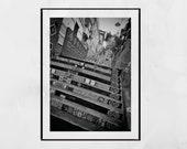 Selaron Steps Rio de Janeiro, Rio De Janeiro Poster, Rio De Janeiro Photography Print, Escadaria Selarón, Rio De Janeiro Wall Art, Gift