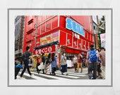 Akihabara Tokyo Photography Print, Akihabara Poster, Tokyo Photography, Japanese Restaurant Decor, Tokyo Poster, Japan Photography, Wall Art