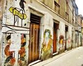 Salvador, Street Art, Salvador Street, Street Scene, Brazil Scene, Brazil Gift, Large Print, Brazil Print, Salvador Print, Bahia