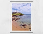 Salvador Brazil Photo, Barra Salvador Brazil, Salvador Bahia Photo, Salvador de Bahia Poster, Barra Lighthouse Salvador, Beach Wall Art