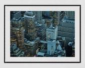 New York Photography Print, City Photography, Manhattan Print, New York Poster, Urban Photography, Manhattan Print, Living Room Wall Print,