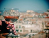 Marseille Rose Wine Photography Print