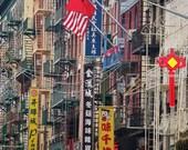 Chinatown New York Photography Print, Chinatown Print, Chinese Restaurant Wall Art, Chinese Restaurant Decor, Chinatown Poster, Wall Decor