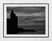 Castle Print, Scotland Print, Greenan Castle Ayrshire, Scotland Photography, Scottish Print, Home Decor Wall Art, Gallery Wall Prints