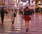Shibuya Crossing Tokyo, Tokyo Umbrella, Tokyo Photography, Tokyo Poster, Tokyo Gallery Wall Prints, Tokyo Print, Japanese Restaurant Decor