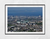 Hibernian FC Leith Easter Road Stadium Print