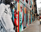 Street Art Print, 27 Club Print, New York Street Art, Lower East Side New York Print, Eduardo Kobra Mural, Janis Joplin Print, New York Gift