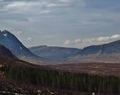 Glencoe Scotland Print, Glencoe Print, Glencoe Photo, Landscape Print, Scottish Highlands, Landscape Photography, Scotland Wall Art, Nature