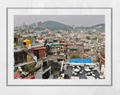 Seoul Photography Print Skyline Poster
