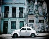 Salvador Street Scene, Pictures of Salvador, Salvador, Salvador de Bahia, Architecture Print, Vintage Beetle, Beetle Print, Photos of Beetle