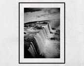 Iguazu Falls Photography Print, Iguazu Falls Picture, Waterfall Photography, Nature Photography, Waterfall Print, Home Decor Wall Art, Gift