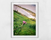 Isle of Barra Scotland Photography Print, Scottish Thistle Picture, Barra Photo, Scottish Thistle Print, Scotland Thistle, Scotland Thistle