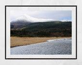 Arran Scotland, Isle of Arran Photography, Landscape Photography, Scotland Photography, Goatfell Arran, Arran Gift, Mountain Photography