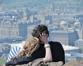 Edinburgh Love, Arthur's Seat Edinburgh Print, Love Print, Edinburgh Print, Edinburgh Photo, Edinburgh Skyline, Couple Gifts, Love Wall Art