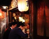 Tokyo Photography, Tokyo Izakaya Print, Japanese Restaurant Photography, Piss Alley Tokyo, Japanese Restaurant Decor, Gallery Wall Prints