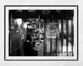 Tokyo Izakaya Print, Golden Gai Tokyo, Tokyo Photography, Japanese Restaurant Decor, Japan Poster, Japan Photography, Tokyo Print, Wall Art
