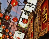 Chinatown Photography Print, Chinatown Print, Yokohama Chinatown, Yokohama Japan,  Chinese Restaurant Decor, Pictures For Chinese Restaurant