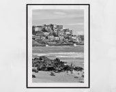 Salvador de Bahia Poster, Favela Poster, Brazil Photography, Salvador Bahia Photo, Salvador Brazil Photo, Brazil Poster, Beach Photography