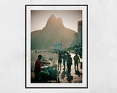 Ipanema Beach Print, Ipanema Print, Ipanema Poster, Rio De Janeiro Print, Rio De Janeiro Photography, Rio De Janeiro Poster, Decor Wall Art