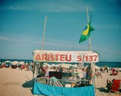 Copacabana Beach Print, Copacabana Beach Photo, Rio De Janeiro Print, Rio De Janeiro Photo, Brazil Print, Brazil Photo, Brazil Poster