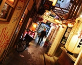 Tokyo Photography, Tokyo Poster, Tokyo Gallery Wall Prints, Harmonica Alley Tokyo Print, Japanese Restaurant Decor, Japan Print, Photo Print