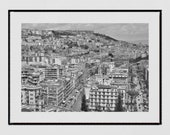 Naples Photography Print, Naples Skyline, Italy Photography, Naples Poster, Belvedere di San Martino Naples, Naples Wall Art, Europe Print,