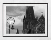 Glasgow Cathedral, Glasgow Photography Print, Glasgow Coat Of Arms, Glasgow Poster, Glasgow Picture, Glasgow Print, Glasgow Gift, Decor