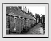 Footdee Aberdeen Photography Print, Aberdeen Scotland, Aberdeen Poster, Aberdeen Gift, Scotland Photography, Scotland Print, Scotland Poster