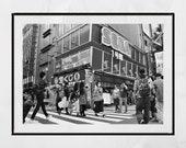 Akihabara Tokyo Photography Print, Tokyo Photography, Akihabara Poster, Japanese Restaurant Decor, Tokyo Poster, Japan Photography, Wall Art