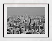 Tokyo Poster, Tokyo Skyline, Tokyo Photography Print, Tokyo Tower, Tokyo Print, Tokyo Wall Art, Tokyo Gift, Tokyo Picture, Tokyo Photo